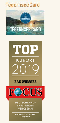 Tegernsee-Card - TOP Kurort 2019 Bad Wiessee